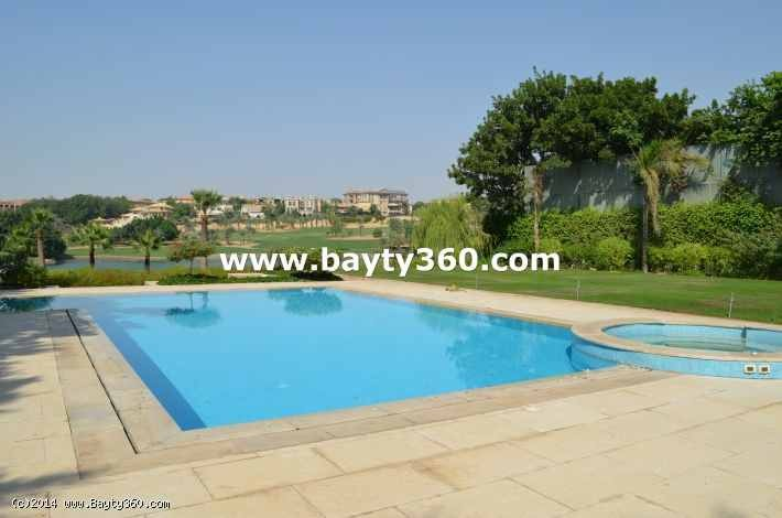 Luxerious villa for rent in katameya heights compound
